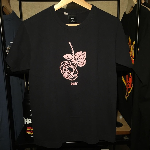 Obey Tops - Obey Rose Tee